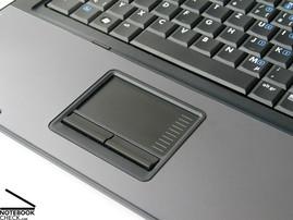 HP Compaq 6710b Touch pad