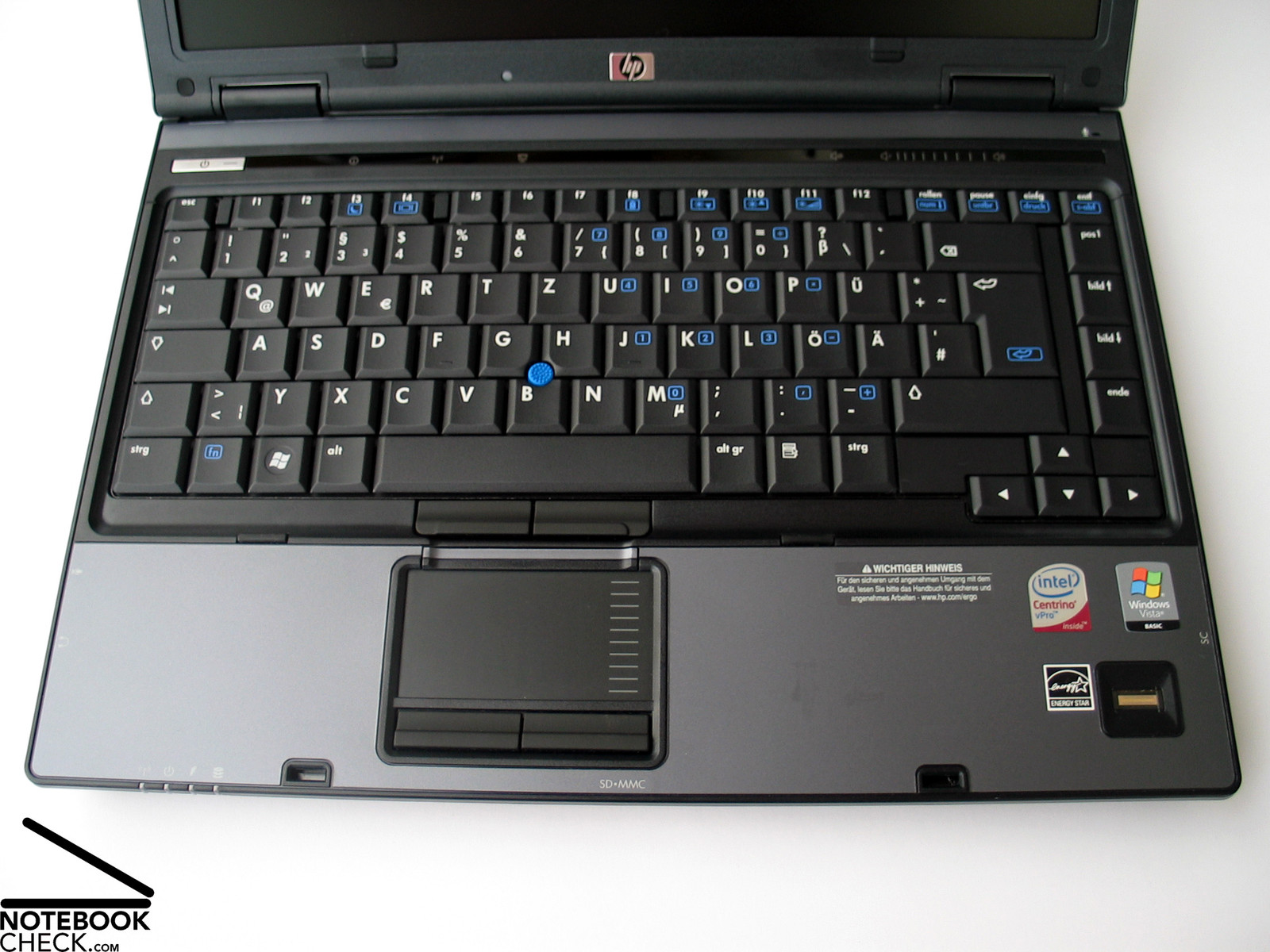 HP Compaq 6910p Keyboard