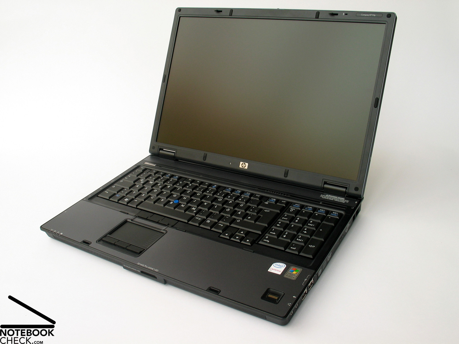 how to open hp notebook laptop