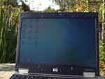 HP Elitebook 2530p outdoors
