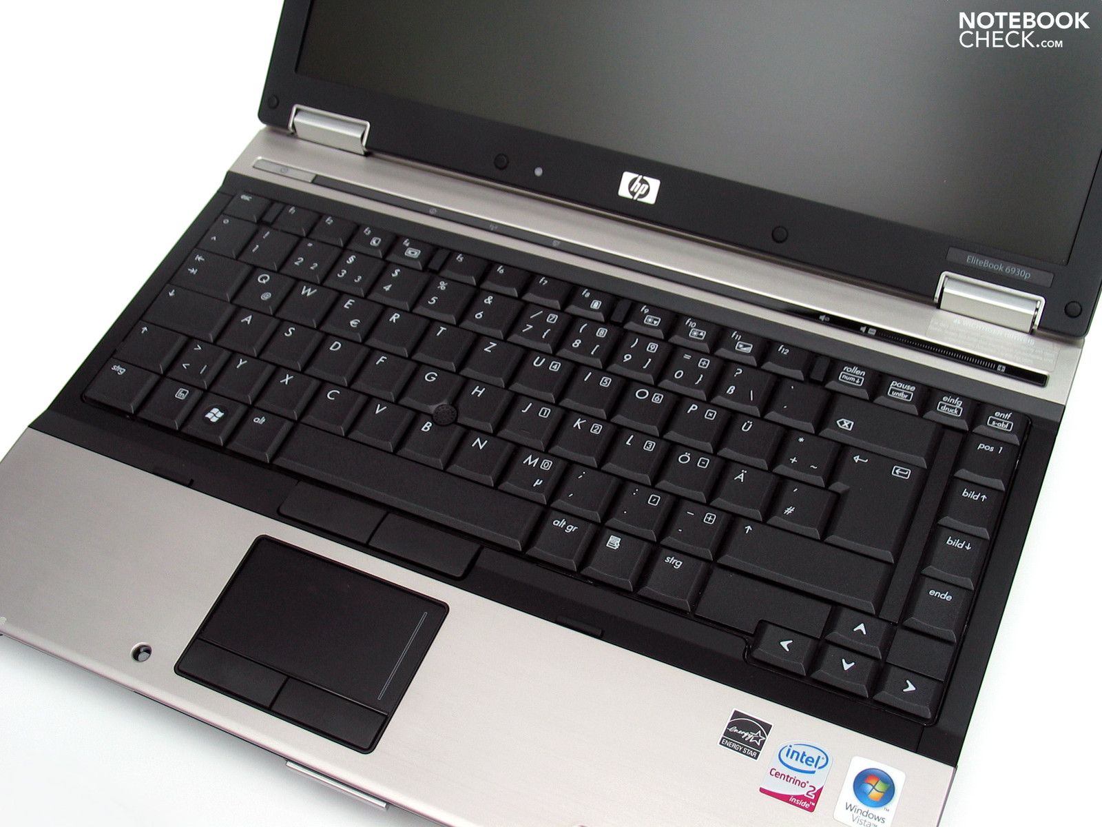 Review HP EliteBook 6930p Notebook - NotebookCheck net Reviews