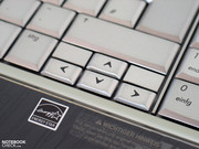 In this regard there are only the arrow keys to criticise, which turned out particularly small.