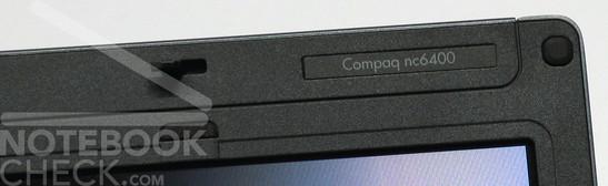 HP Compaq nc6400 Logo
