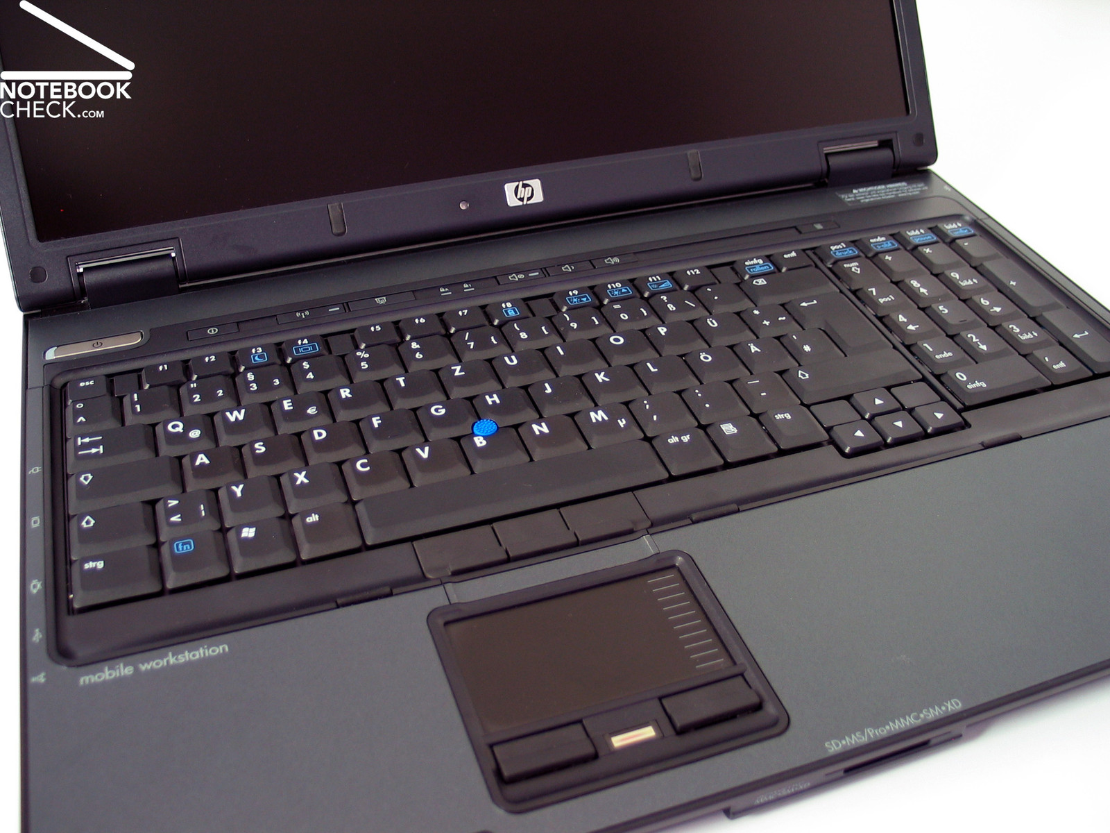 review hp compaq nw notebook notebookchecknet reviews