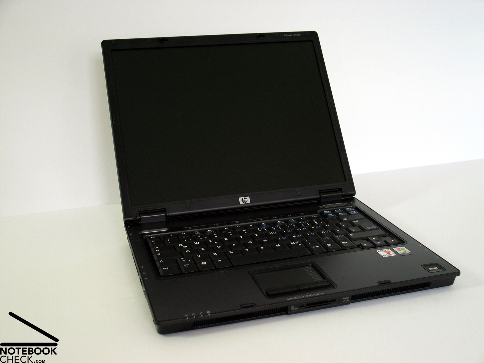 review hp compaq nx6325 notebook