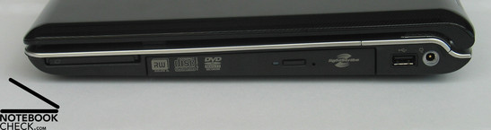 HP Pavilion dv6598eg Interfaces