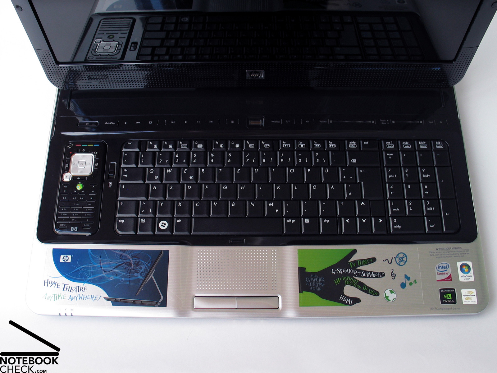 Hp notebook quickdock review - Hp Pavilion Hdx 9320eg Keyboard