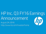 HP FQ3 2016 financial results show dropping profits and revenue