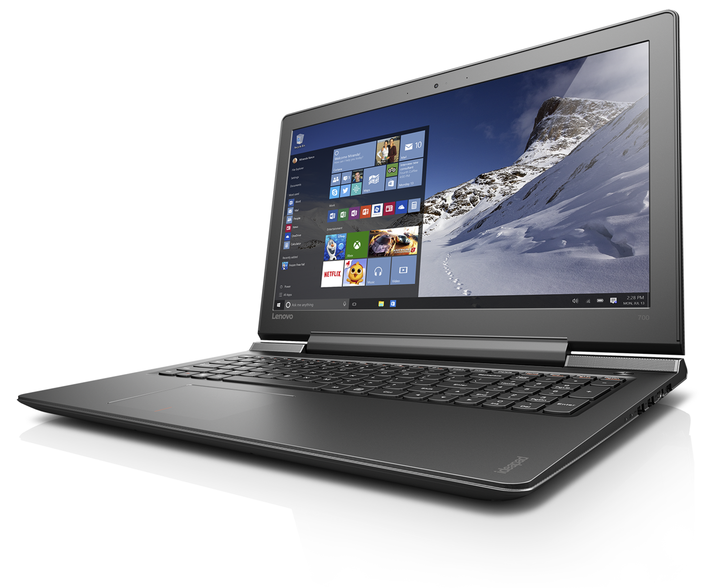 lenovo announces the ideapad y900 gaming laptop ideapad 710s and ideapad 700 notebookcheck. Black Bedroom Furniture Sets. Home Design Ideas