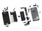 A completely disassembled iPhone 6. (Source: http://www.iFixit.com)