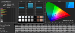 CalMAN: ColorChecker (DCI-P3)