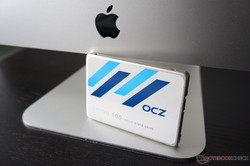 We would have preferred an inexpensive SSD like the OCZ Trion 100 instead of the HDD in the entry-level model and it would have also improved the Windows performance of Fusion Drive systems.
