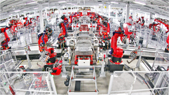 Automated manufacturing is already the standard in some fields, such as Automotives. (Source: Robotics Tomorrow)