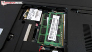A maximum of eight GB DDR3 RAM can be installed.