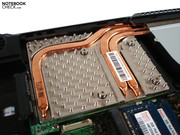 Nvidia's GeForce GTX 460M produces a lot of heat.