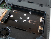A second hard drive can be easily retrofitted.