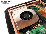 A single fan takes care of the hot-headed high-end component's waste heat.