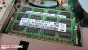 Schenker endowed our test machine with 16GB DDR3-RAM.