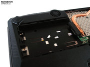 A second HDD slot can be made use of.