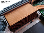 A big cooling body takes care of the processor's waste heat.