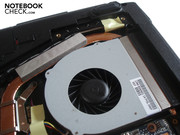The case fan turns up decently under full load