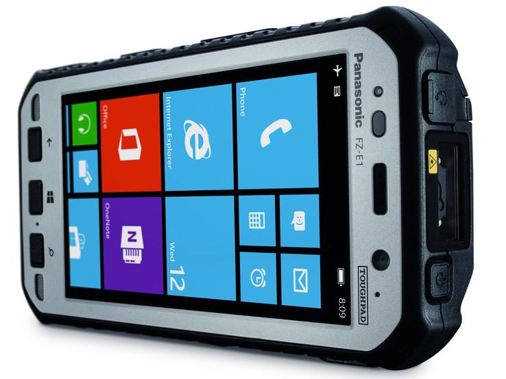 Panasonic Toughpad Fz E1 Handheld Review Notebookcheck