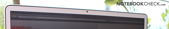 MBP17 2011 matte - Aluminum frame without reflections