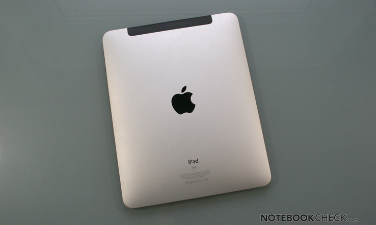 Apple's iPad - the market leader, and rightly so