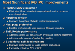 IPC improvements