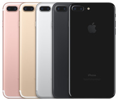 Apple's lineup of iPhone 7 Plus devices. (Source: Apple)