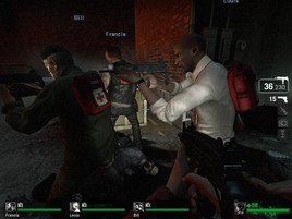 Left4Dead: high - playable in high resolutions