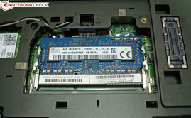 Lenovo ThinkPad L440: working memory and docking port