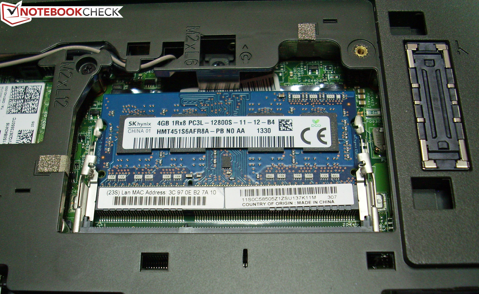 Lenovo t400 memory slots