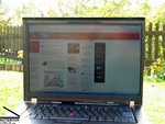 Thinkpad T500 outdoors