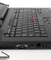 The keyboard is the typical Thinkpad input unit,...