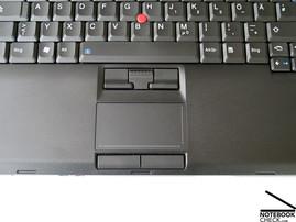 Lenovo Thinkpad T500 touchpad
