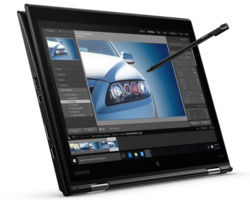 In review: Lenovo Thinkpad X1 Yoga 20FQ-000QUS. Test model provided by Lenovo US.