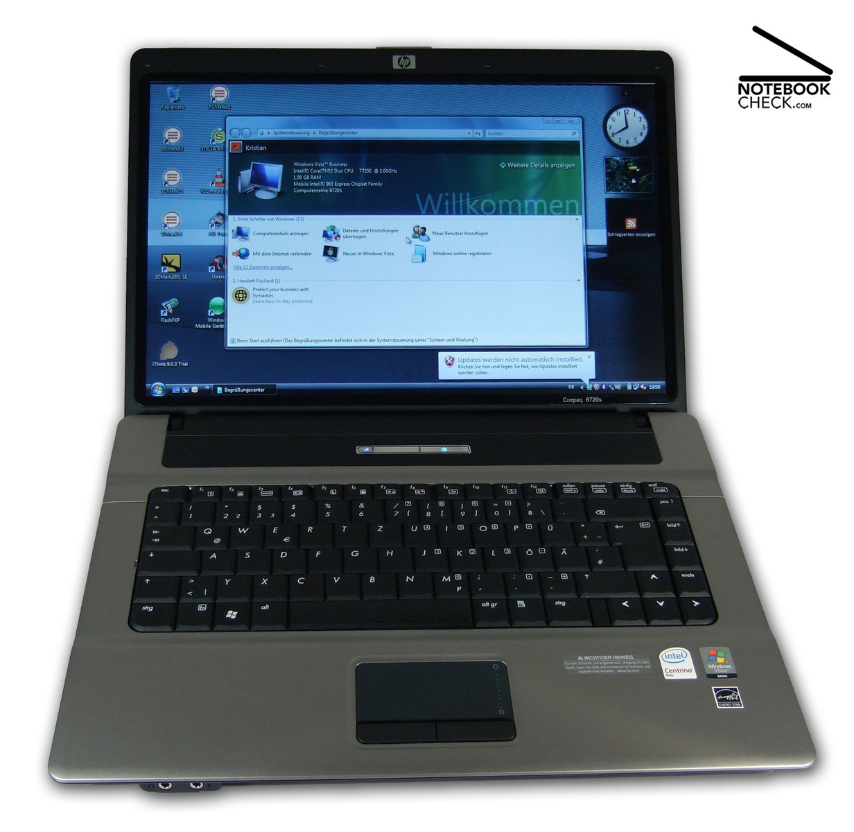 HP Compaq 6820s Notebook Hitachi HDD Driver for PC