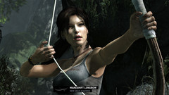 With the bow Lara becomes a hunter and stealth-expert.