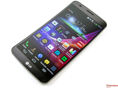 LG G Flex (pictured) will soon be replaced with a more powerful and compact successor.