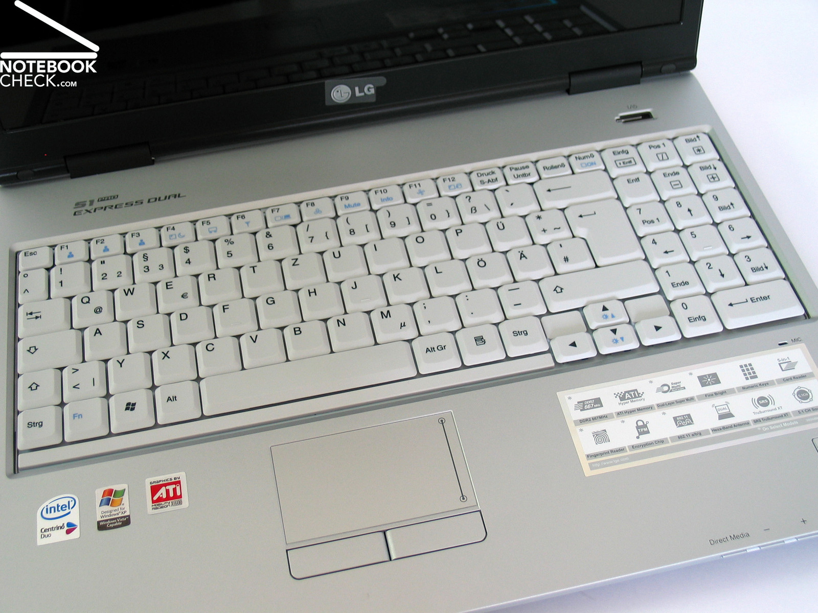 Review Lg S1 Pro Notebook