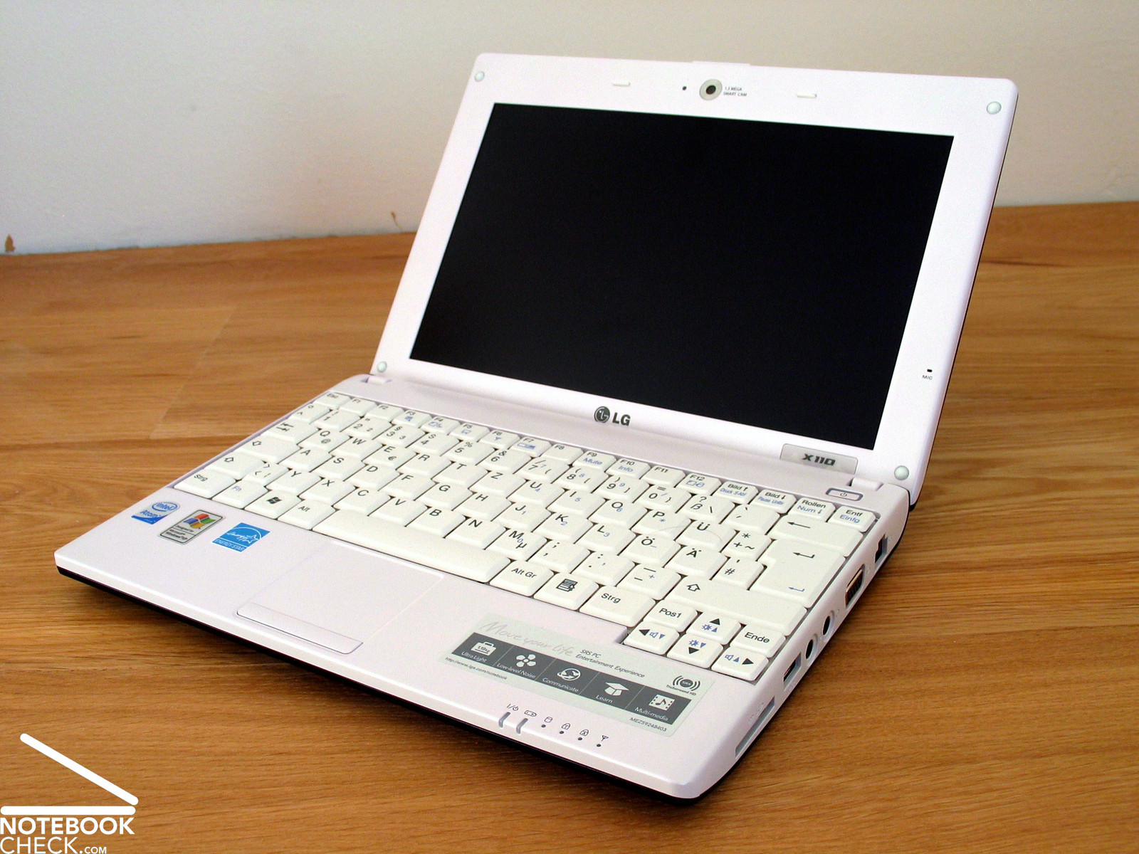 review lg x110 netbook   notebookcheck   reviews