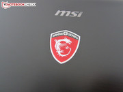 There's a dragon next to the MSI icon.