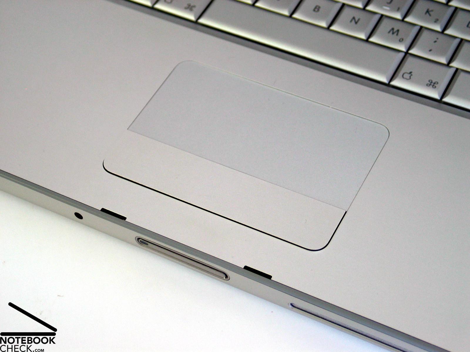 """Review Apple MacBook Pro 15"""" V4.1 (2.5 GHz Penryn) - NotebookCheck.net ..."""