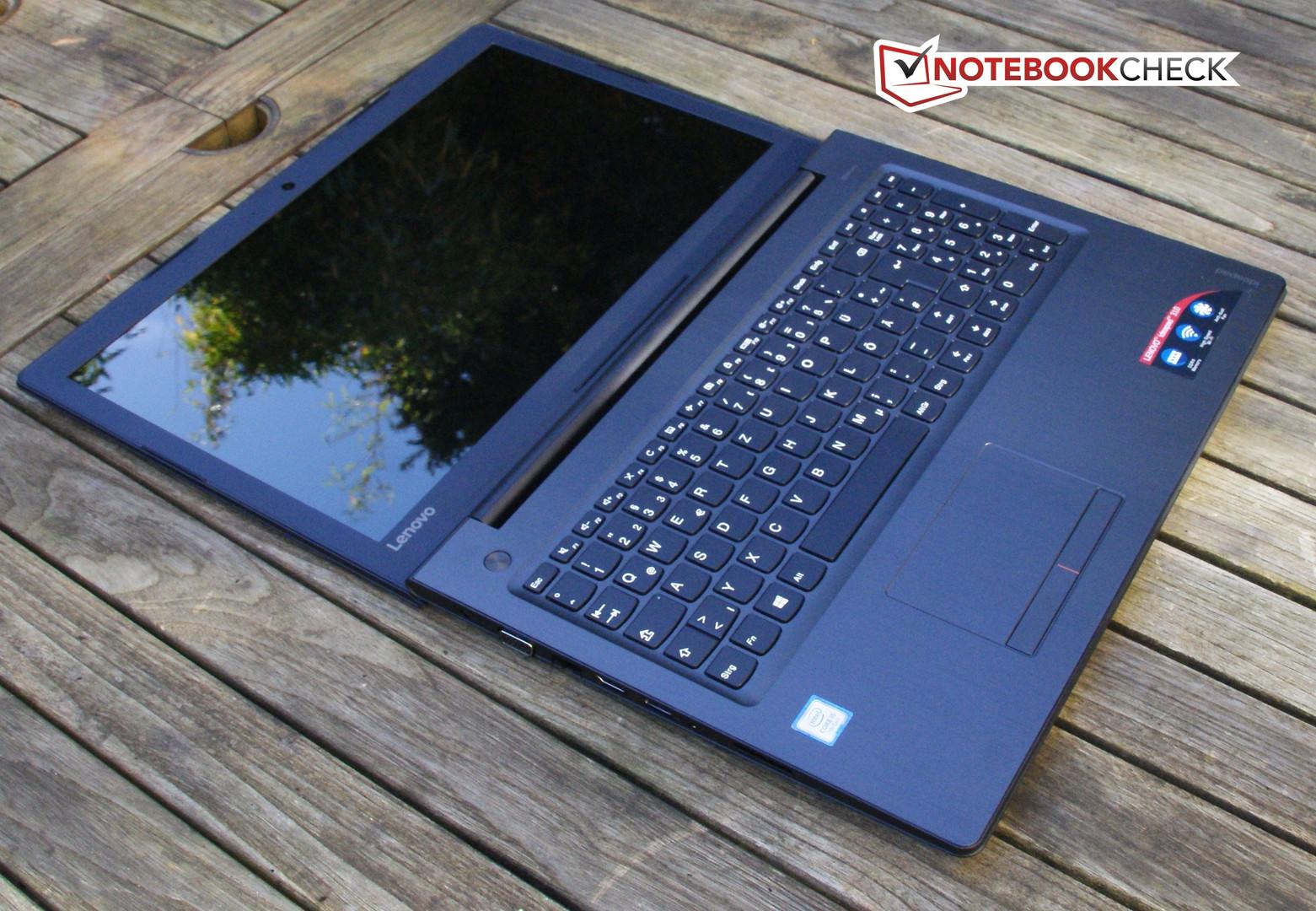 Lenovo Ideapad 310 15ikb Notebook Review Reviews Ideapad110 Black Texture Intel N3160 2gb Ram 1tb Dos Max Opening Angle