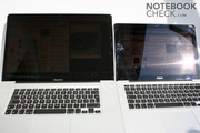 "The design of the 17"" is ultimately an enlargement of the MacBook."