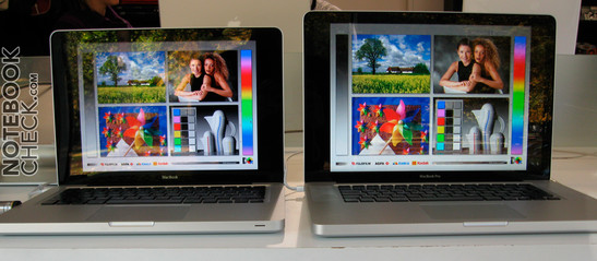 Viewing Angles of MacBook vs. MacBook Air