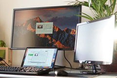 Kensington SD4600P with macOS: Only the 4K monitor works, HDMi only mirrored desktop