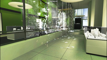 PhysX on – the fragments remain on the floor with PhysX