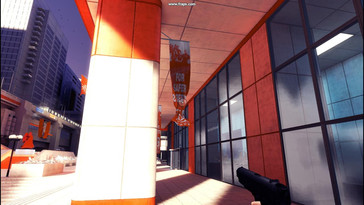 PhysX on – numerous material surfaces decorate the world of Mirror's Edge